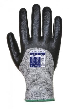 Rękawice antyprzecięciowe klasa 5 pokryta pianką nitrylową A621 Portwest