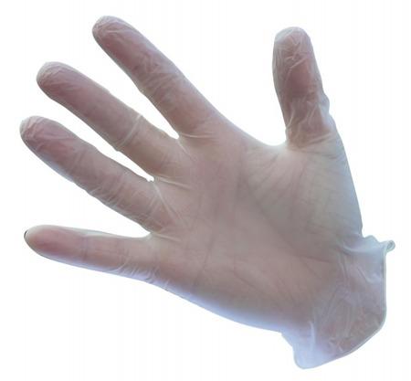 Rękawice jednorazowe winylowe niepudrowane A905 Portwest