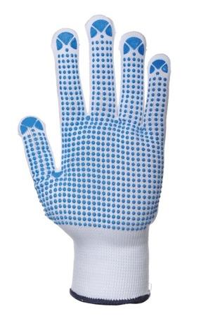 Rękawice nylonowe nakrapiane Portwest A110