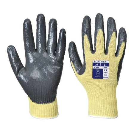 Rękawice robocze antyprzecięciowe nitrylowe poziom 3 A600 Portwest