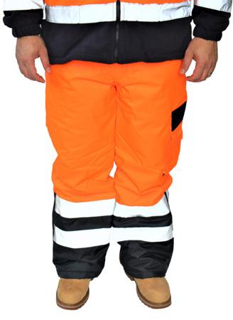 Spodnie odblaskowe ocieplane zimowe Portwest