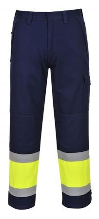 Spodnie odblaskowe trudnopalne MV26 Portwest